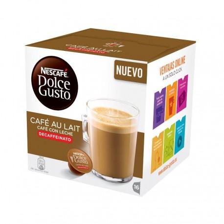 DOLCE GUSTO CAFE CON LECHE DESCAFEINADO