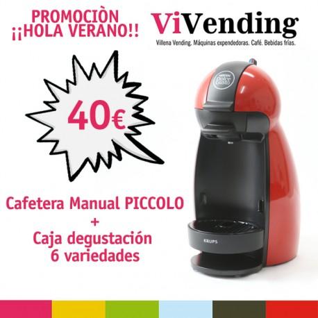CAFETERA DOLCE GUSTO MOD. PICCOLO NEGRA