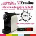 PROMOCIÓN Cafetera Delta Q ¡¡AUTOMÁTICA!! MOD. QOOL EVOLUTION